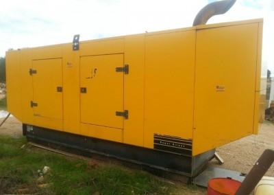 Generador Eléctrico 250 Kvas